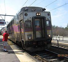 1709 MBTA Commuter line by Eric Sanford