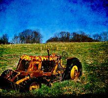 Beachnut Tractor I by Heather A McGhee