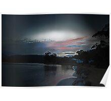 Beautiful Tasmanian Sunset Poster