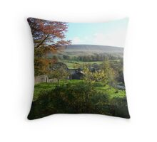 Pendle Hill from Downham Throw Pillow