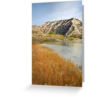 Island Park Autumn Grasses Greeting Card