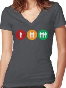 Good, Better, Best Women's Fitted V-Neck T-Shirt