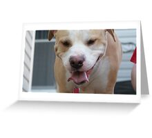 Pit Grin Greeting Card