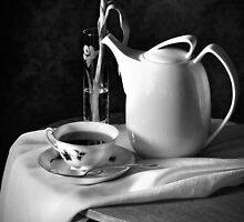 Noir Tea Time by Rachel Slepekis