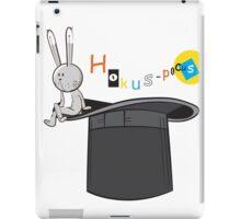 Hokus-pokus. iPad Case/Skin