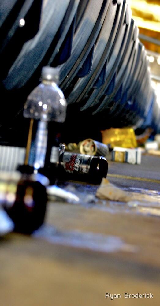 Trash- Yankee Stadium by Ryan  Broderick