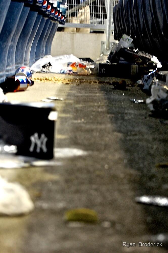 Trash 2- Yankee Stadium  by Ryan  Broderick