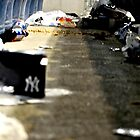 Trash 2- Yankee Stadium  by Ryan  Broderick