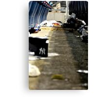 Trash 2- Yankee Stadium  Canvas Print