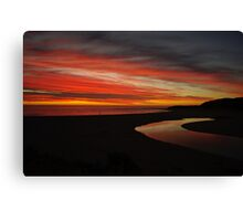 Margaret River at Sunset  Canvas Print