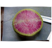 Watermelon Radish  Poster