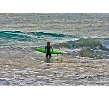 Girl Surfer Photographic Print