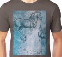 Da Vinci Horse Unisex T-Shirt