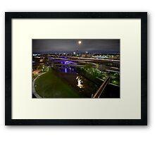 Houston highways Framed Print