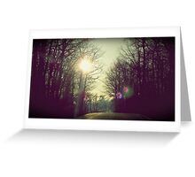 road flare Greeting Card