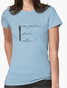Fencing Tool Womens Fitted T-Shirt