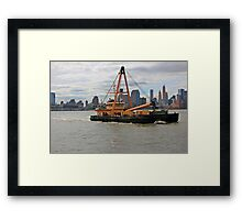 Army corps of engineers Driftmaster Framed Print