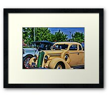 Plymouth Automobile Framed Print