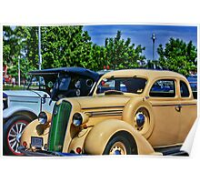 Plymouth Automobile Poster