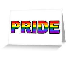 PRIDE   GAY MARRIAGE   RAINBOW Greeting Card