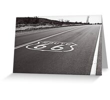 Mother Road Greeting Card