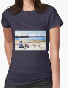 Artist's View, Altona Womens Fitted T-Shirt