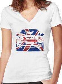 mini Women's Fitted V-Neck T-Shirt