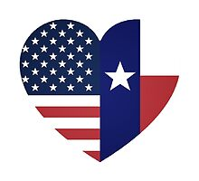 US-Texas Heart by Stepz2007