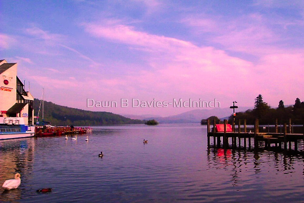 Lake Windermere's Dawn by Dawn B Davies-McIninch