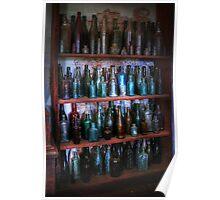 Old bottles ~ Monte Cristo Poster