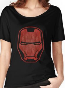 Automaton red retro Women's Relaxed Fit T-Shirt