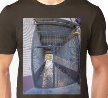 The entrance to the apartment building Unisex T-Shirt
