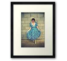 back to the 70s... Framed Print