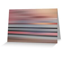 In Motion Greeting Card