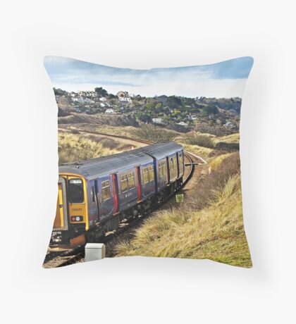 """"""" The St Ives Park & Ride Train"""" Throw Pillow"""