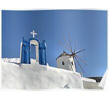 Oia, Santorini Poster