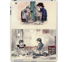 The Little Folks Painting book by George Weatherly and Kate Greenaway 0033 iPad Case/Skin