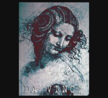 Da Vinci Head of a Woman with Braids by Juilee  Pryor