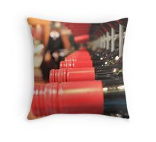 Winery bottles Throw Pillow