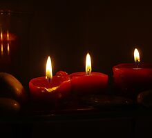 Red Candle by JessicaGillan