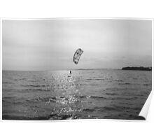 Kitesurfing in Northern Ireland Poster