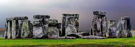 `a different view of stonehenge` by Deb Gibbons