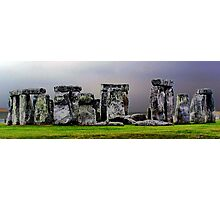 `a different view of stonehenge` Photographic Print