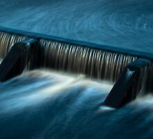 Overflow - Lake Macdonald by Bruce Cathie