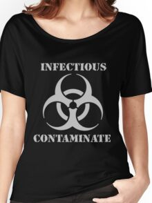 INFECTIOUS CONTAMINATE Women's Relaxed Fit T-Shirt