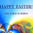 "Easter card "" The Lord is Risen!"" by Caroline  Lembke"