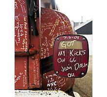 Kicks on Sixty-Six Photographic Print