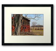 """"""" Wood Repair """" Framed Print"""
