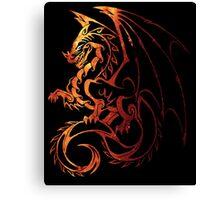 Dragon Space Canvas Print