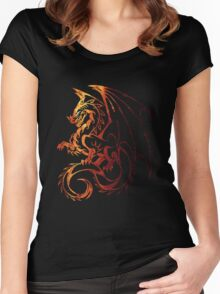 Dragon Space Women's Fitted Scoop T-Shirt